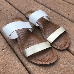 Montego Bay Club Double Strap Sandals